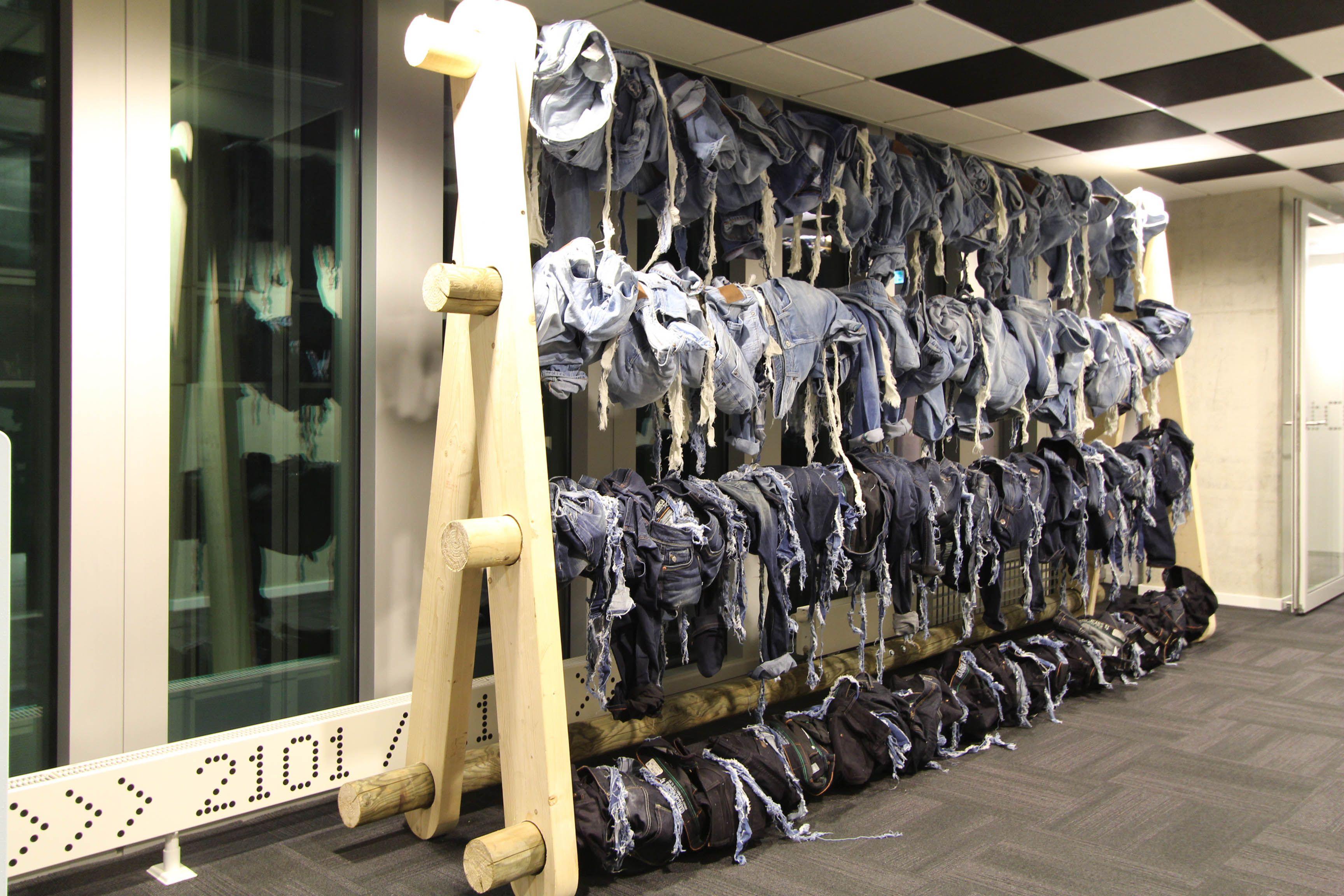 Garcia Jeans, retail design, interior design, sales event, Rotterdam, design, production, installation, visual merchandising #denim