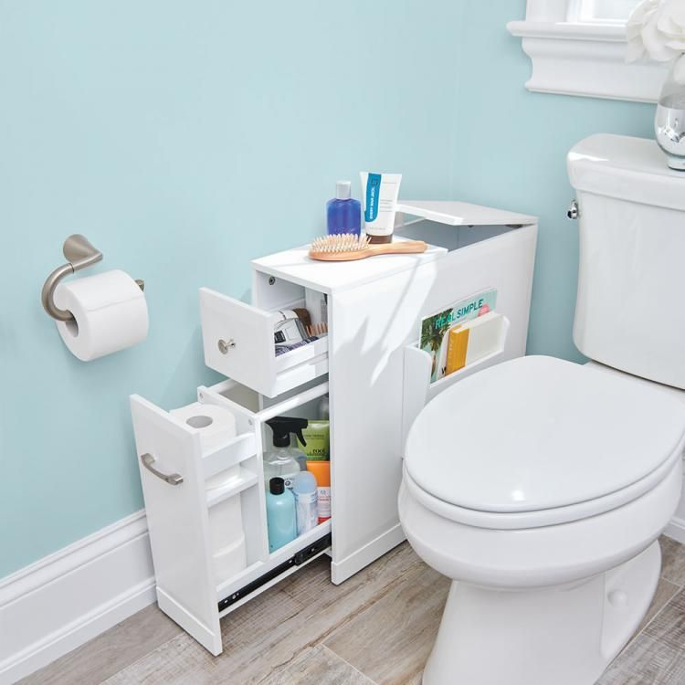 Skinny Bathroom Organizer For Small Bathrooms Bathroom Organisation Small Bathroom Bathroom Design Small