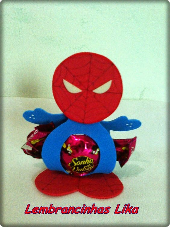 10 Figuras De Fomi Spiderman
