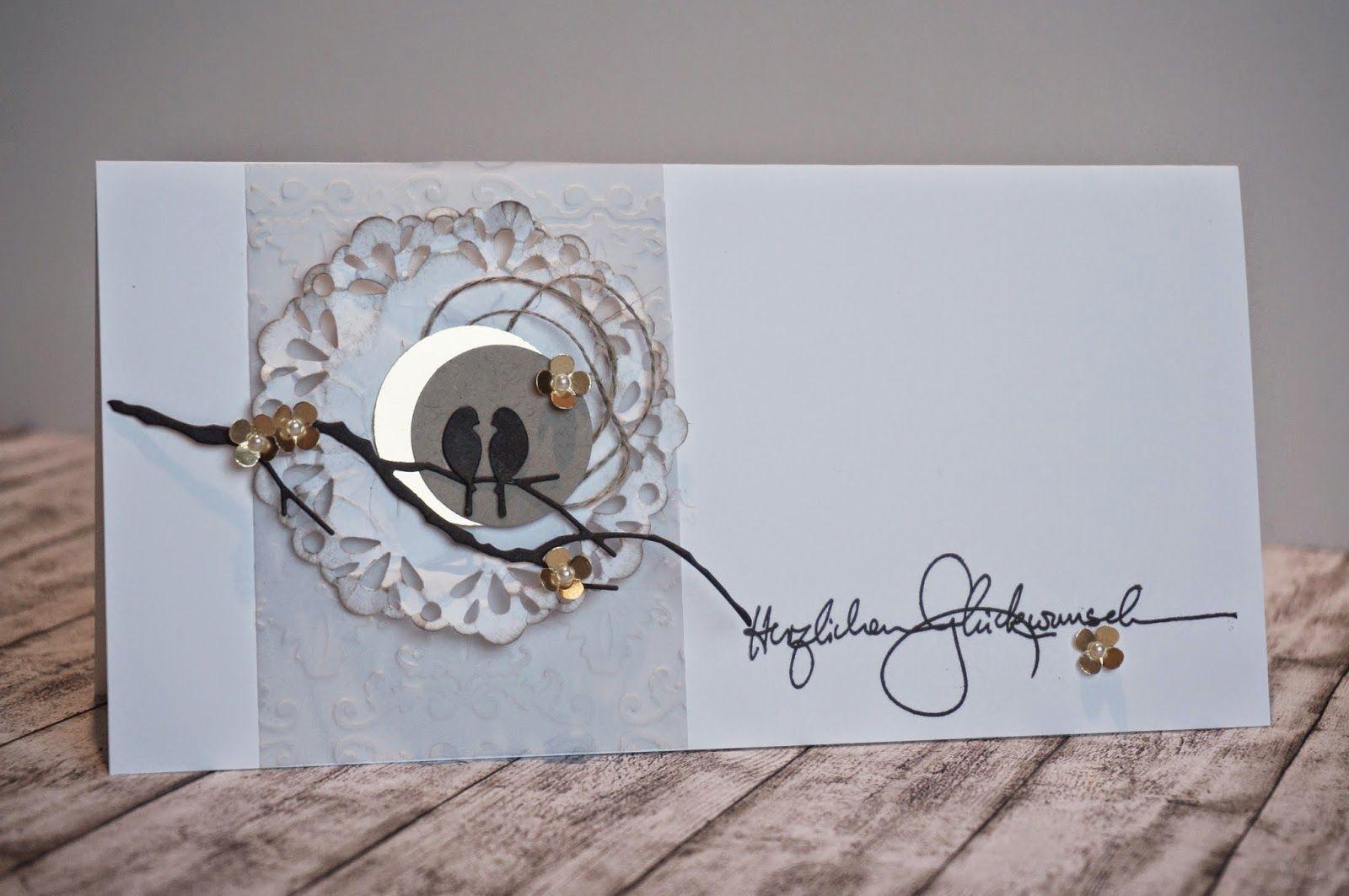 villa kreativa karte zur goldenen hochzeit sch ne karten pinterest goldene hochzeit. Black Bedroom Furniture Sets. Home Design Ideas