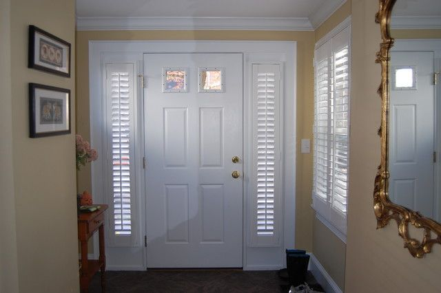 Plantation Shutters Traditional Window Blinds Remodel