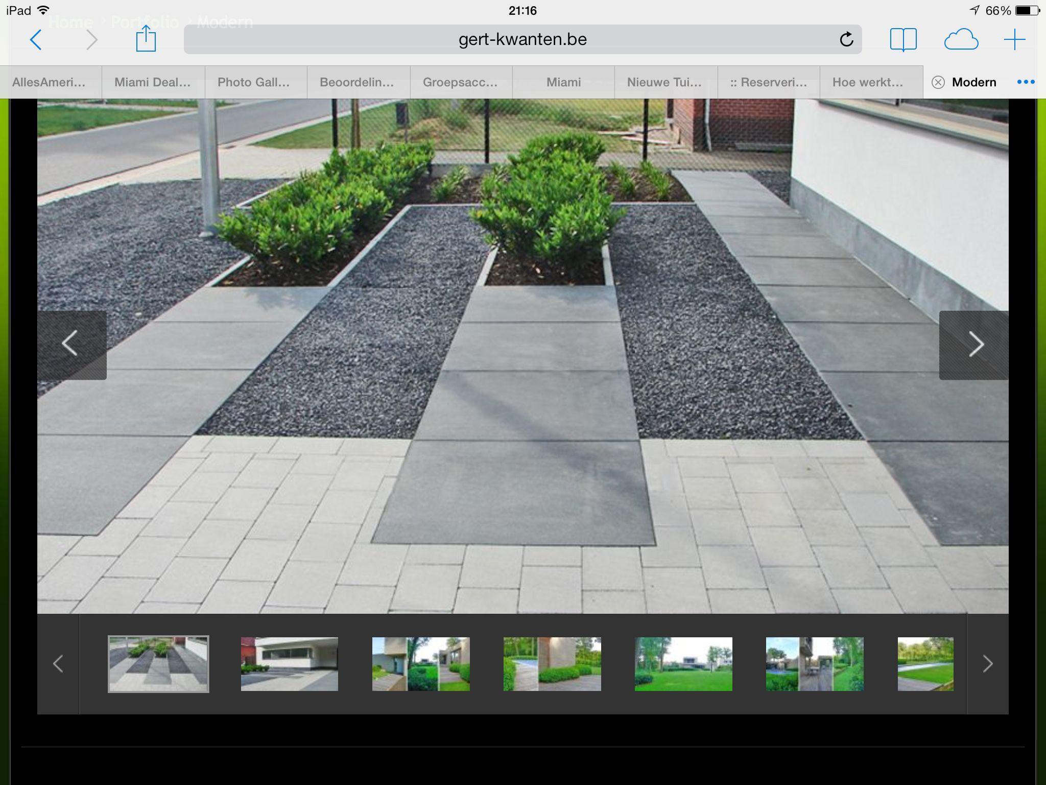 Overloop in bestrating garden pinterest terrasses for Amenagement jardin luxembourg