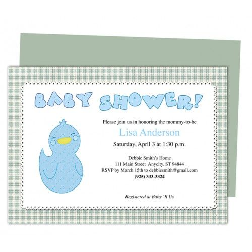 You Can Get Many Amazing Templates Including Baby Shower