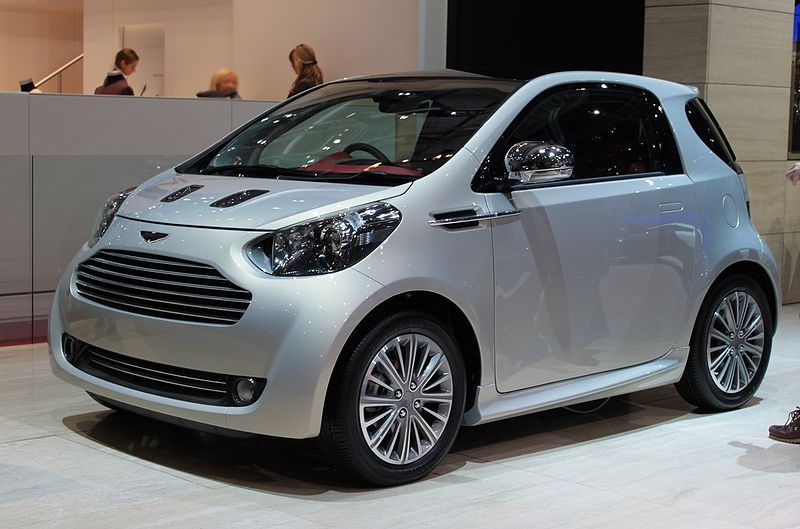 Aston Martin Cygnet Toyota Iq Scion Citycar Up To 45 Mpg