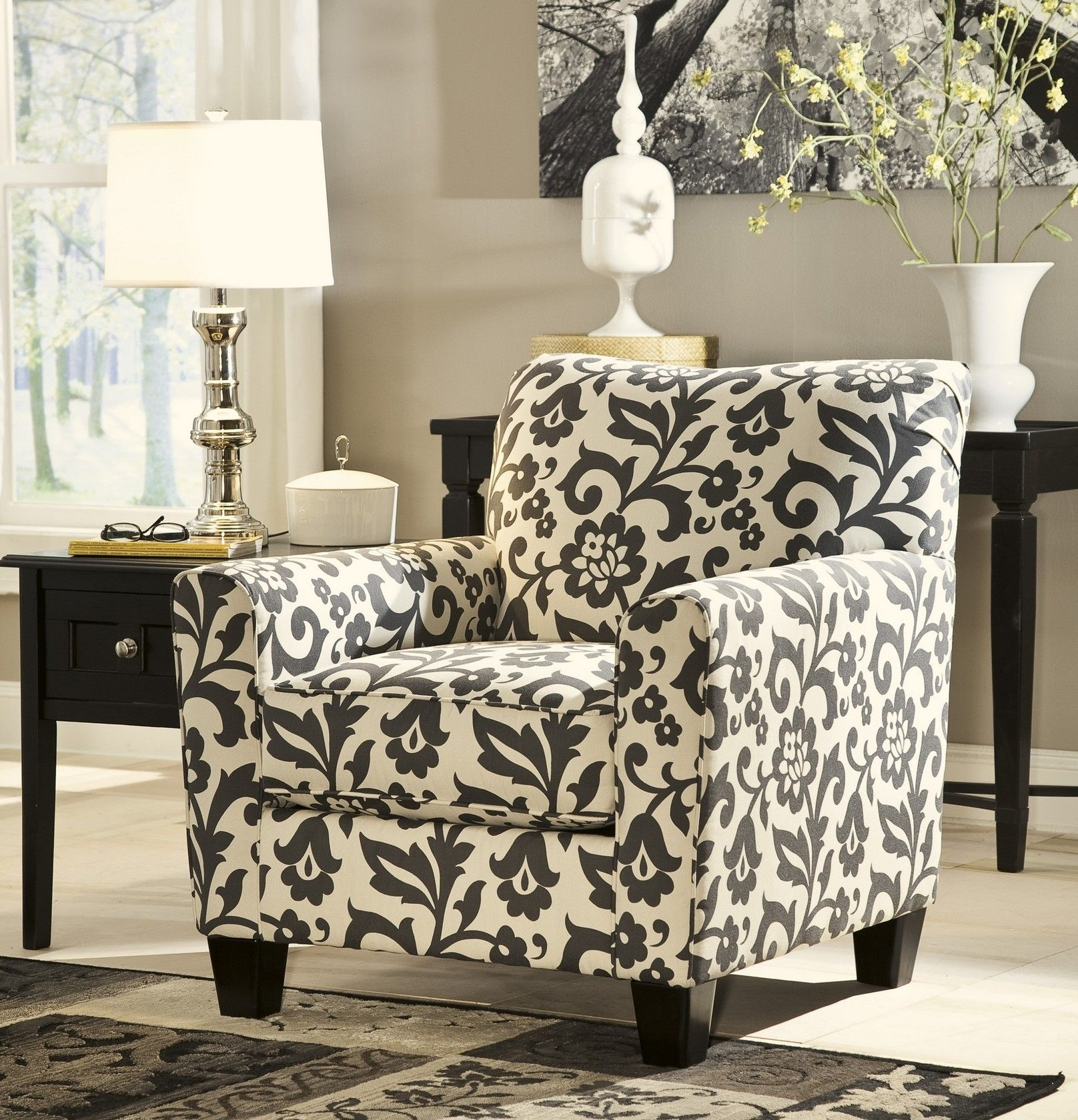 Best Signature Design By Ashley Levon Charcoal Accent Chair 400 x 300