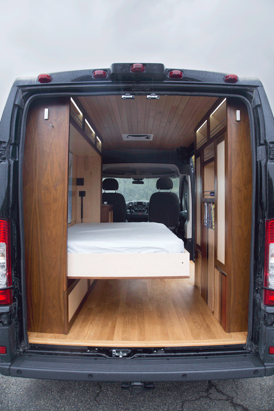 Imgur Camper Van Conversion Diy Camper Cargo Van Conversion