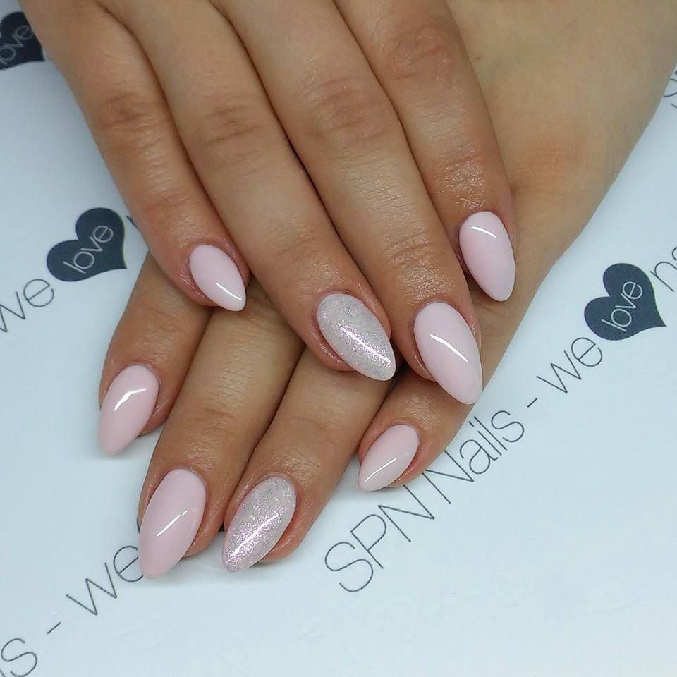 Spn Uv Laq 506 Rose French 662 Mistic Pink Nails By Alicja