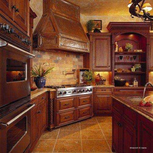Mediterranean Kitchen Photos Design, Pictures, Remodel, Decor And Ideas    Page Hood