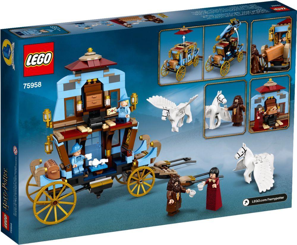 Lego Harry Potter Beauxbatons Carriage Arrival At Hogwarts 75958 6283911 Best Buy In 2021 Lego Harry Potter Hogwarts Lego