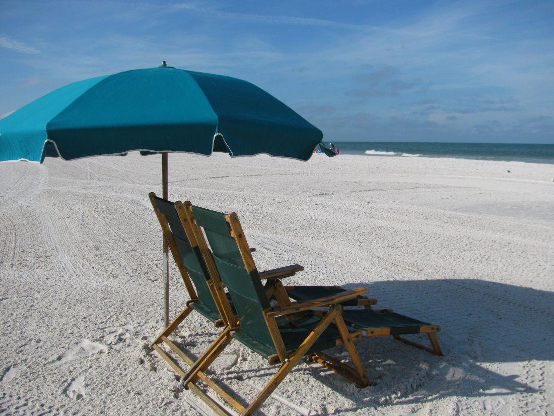Beach Umbrella And Chairs Beach Rentals Florida Beaches Clearwater Beach