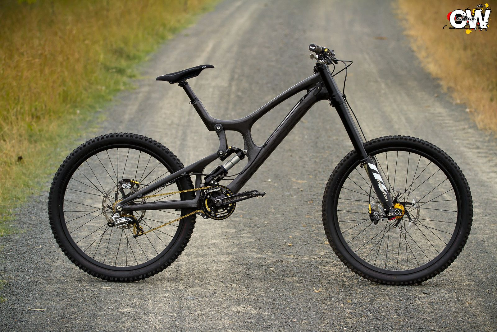 Santa Cruz V1o.5 clear carbon - Suechtiger\'s Bike Check - Vital MTB ...
