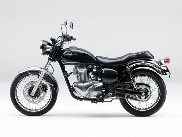 Kawasaki Estrella 250 Terbaru Hadir dengan Warna Lebih