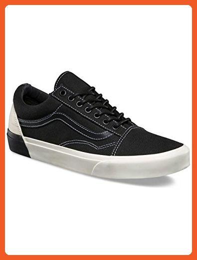 dafc0bad85 Vans Old Skool DX Blocked Classic White Black Men s Classic Skate Shoes Size  9 - Sneakers for women ( Amazon Partner-Link)