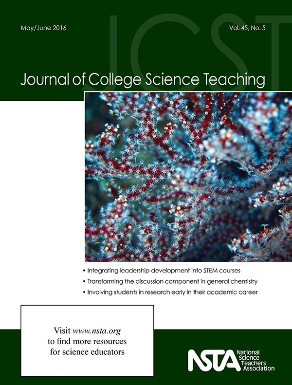 The May/June issue of the Journal of College Science Teaching is now online! In this issue, read how three research institutions collaborated to prepare first- and second-year students for successful research efforts, plus more.