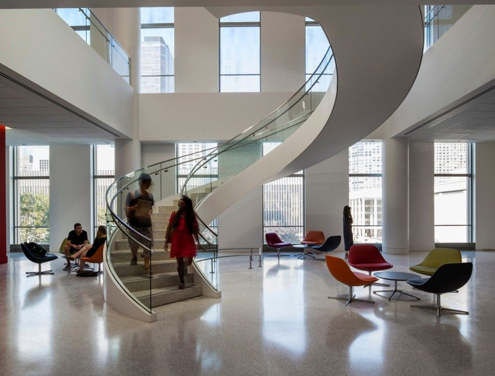 Gallery Of New Fordham Law School Pei Cobb Freed 4 Law School Residence Hall Office Building Architecture