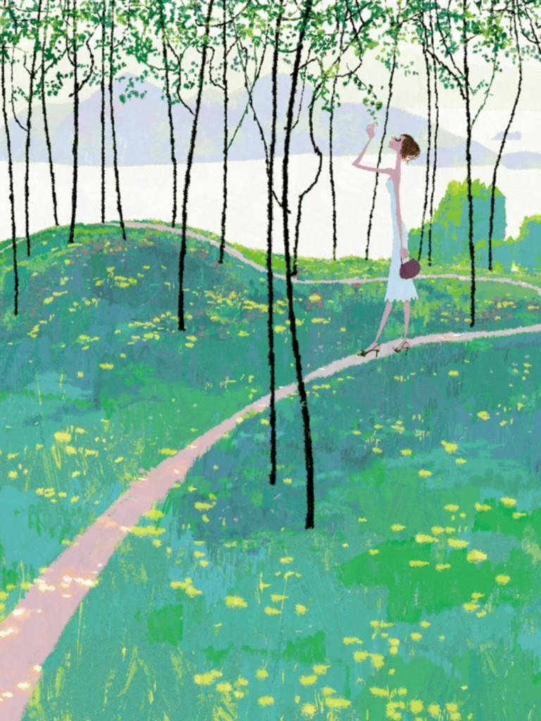 Uesugi Tadahiro(上杉忠弘 1966~ 宮崎県延岡市出身 イラストレーター)
