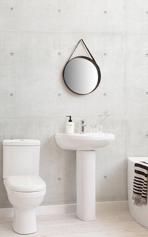 Moderne Zementblöcke Fototapete | Pinterest | Moderne badezimmer ...