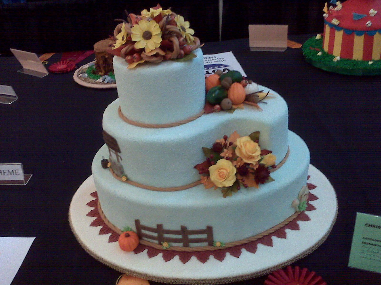Fondant Cakes Fondant Cake Decorating Ideas At Circle Of Food - Healthy Wedding Cakes
