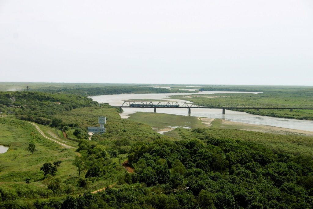 International Border Crossings Russia And North Korea North Korea Golf Courses