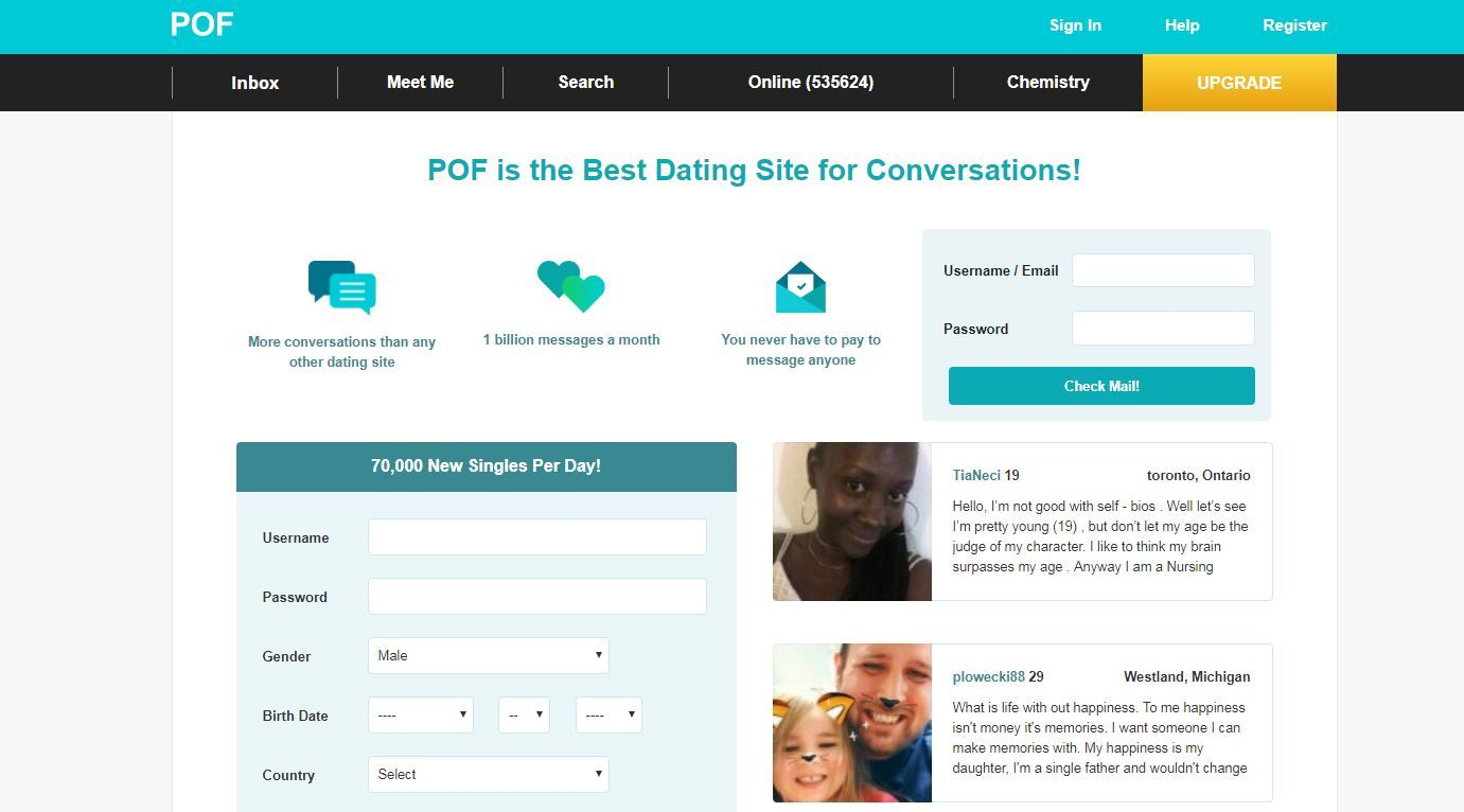 Plenty of fish dating site of free dating videos