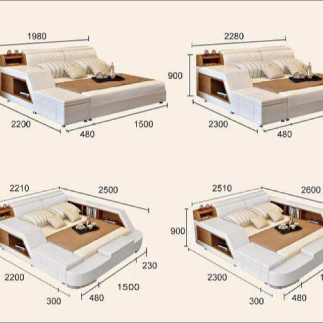 Buy multifunction tatami bed in Singapore,Singapore. Queen size ...