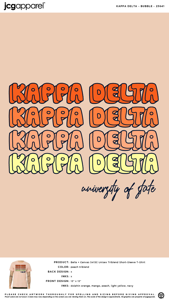 Greek Letter Before Kappa.Kappa Delta Bubble Letters Shirt Sorority Bubble Letters Shirt