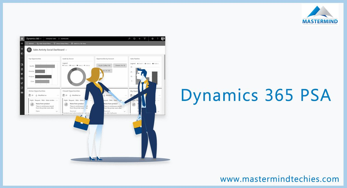 Dynamics 365 PSA helps service team with their price, plan