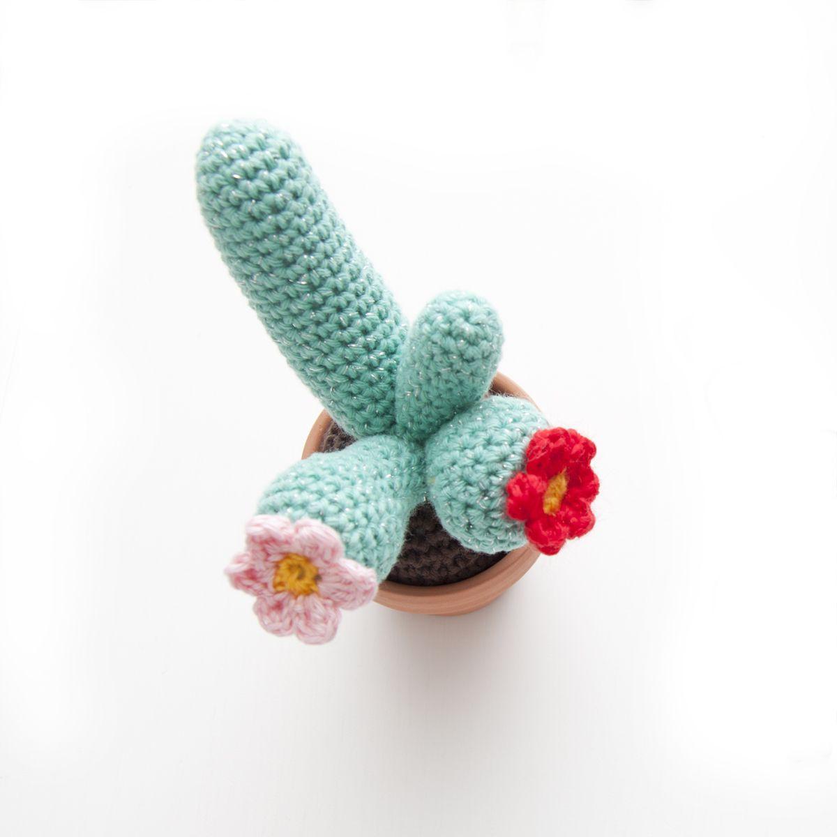 InArt: Mini Cactus - free crochet pattern by Ina Rho.   Crochet ...