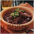 Spicy Red Pork and Bean Chili #black #beans #how #to #cook #canned