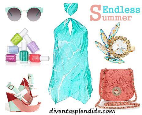 Zeppe multicolor per l'estate