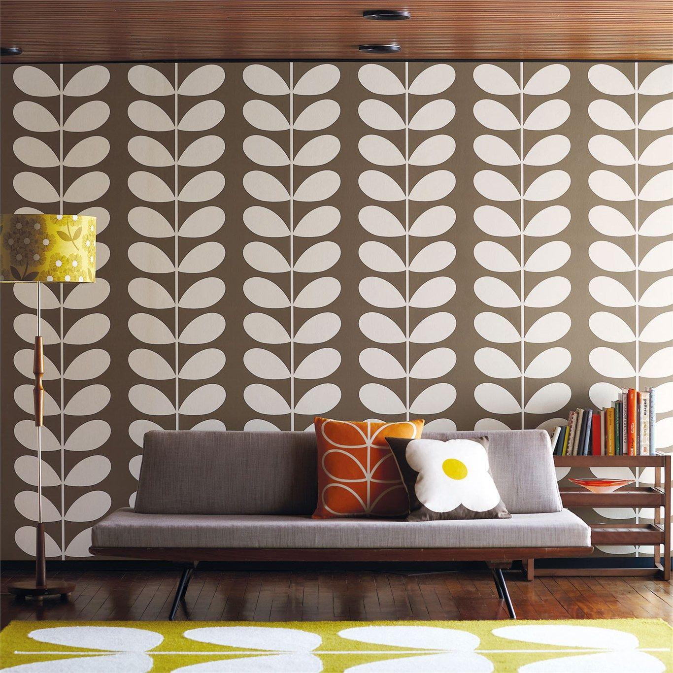 Orla kiely harlequin wallpaper giant stem others pinterest