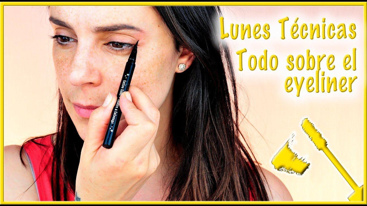 Como hacer el eyeliner en diferentes tipos de ojos | Silvia Quiros Makeup