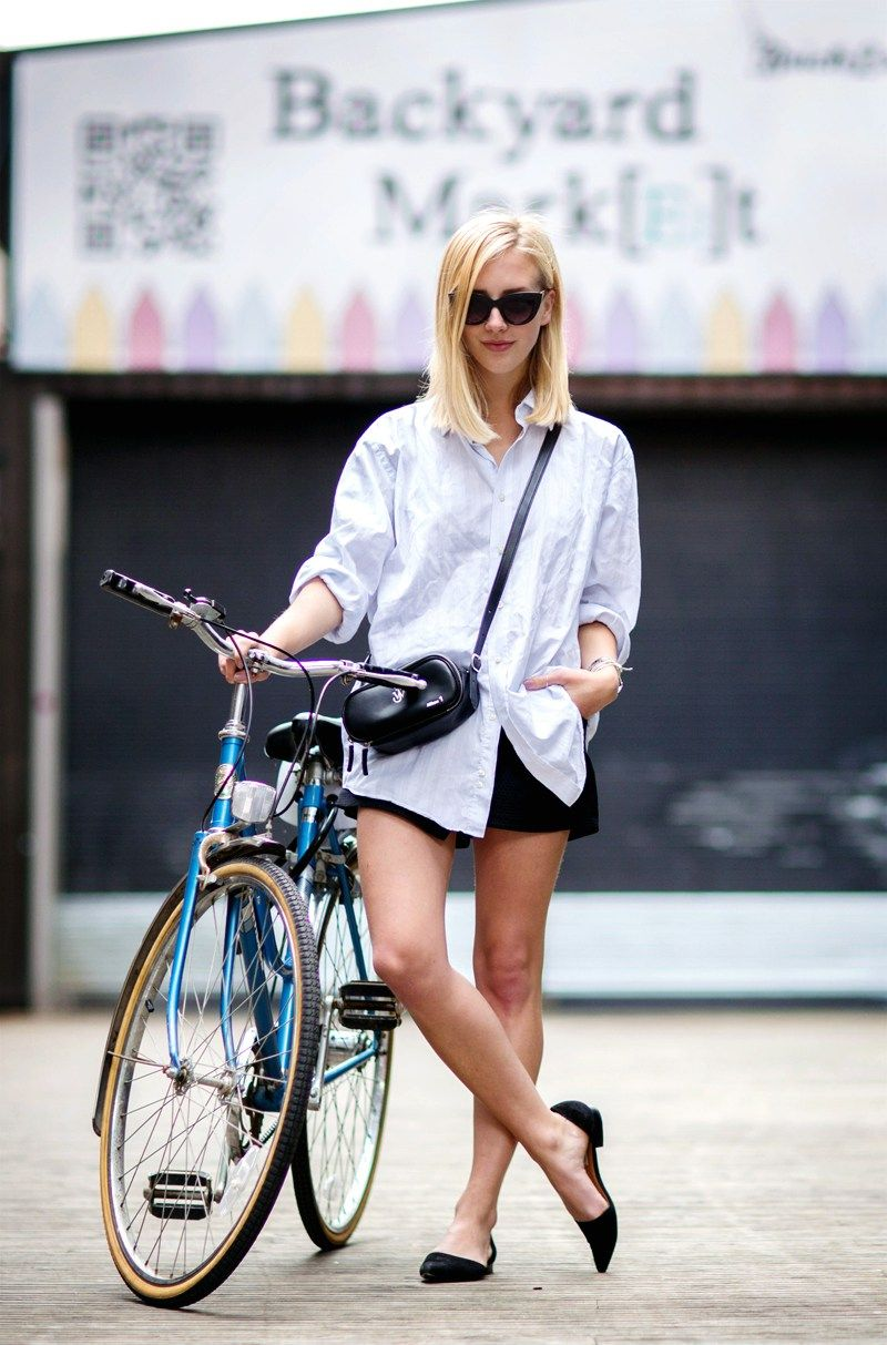 images 39 Fashion Girl-Approved Ways to Look Stylish WhileBiking