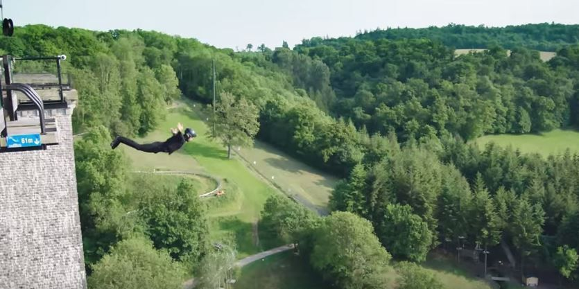 Bungee jumping wireless un salt tehnologic impresionant