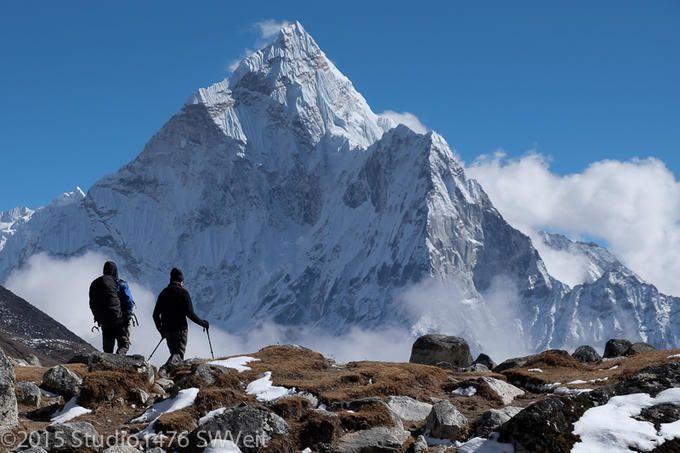 Everest Trekkers and Ama...: Photo by Photographer Steven Veit - photo.net