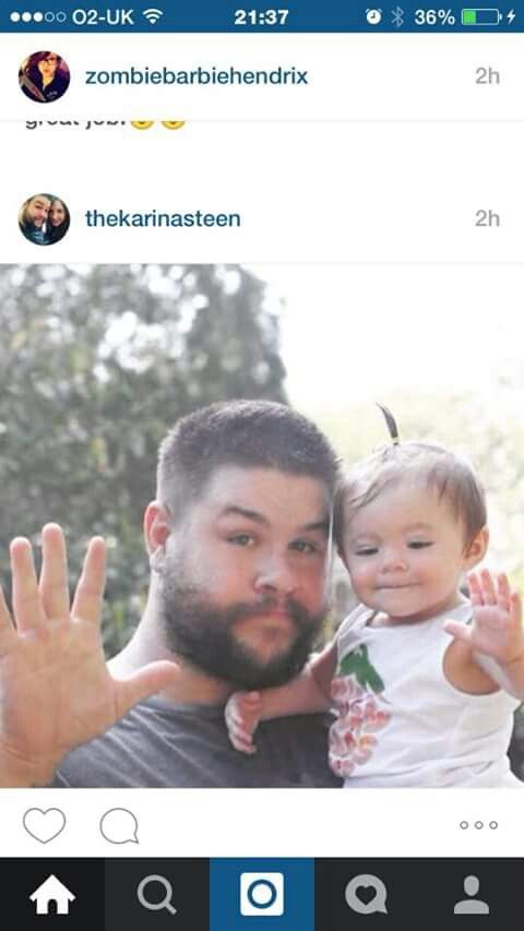 Kevin Owens & Daughter