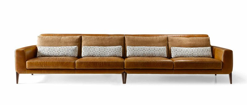 Lucia Italian Leather Sofa Leather Sofa Modern Sofa