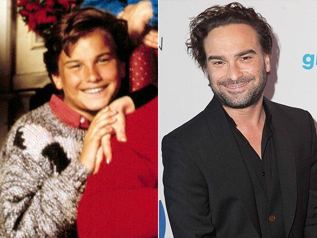 Holiday Movie Stars: Then & Now | Johnny galecki
