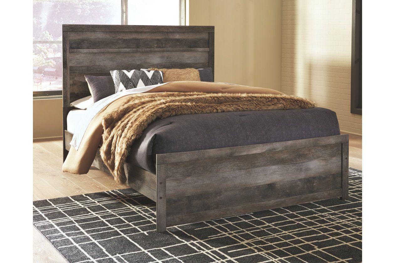 Wynnlow Queen Panel Bed Queen panel beds, Panel bed