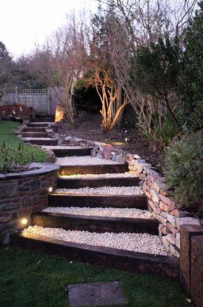 Aménagement extérieur – les marches de jardin en 20 photos