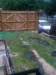 Yard needs to be redone