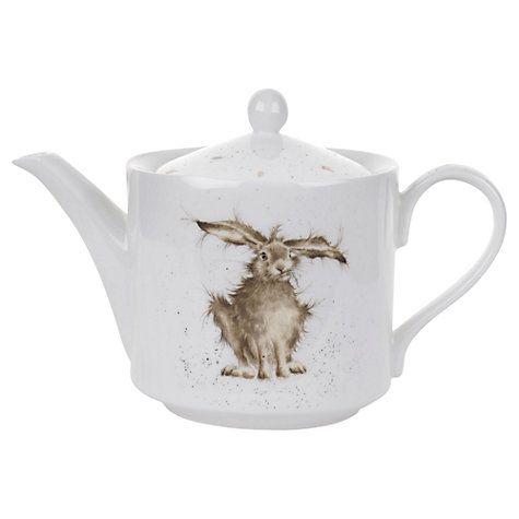 Buy Royal Worcester Wrendale Hare Teapot, 1.13L Online at johnlewis.com
