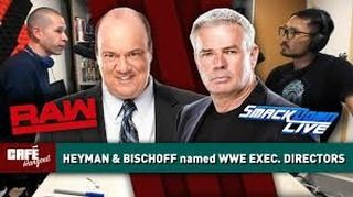 Huge news yesterday for the #WWE naming Heyman and Bischoff to Executive Director positions for both RAW and Smackdown Live. Are you excited for both shows future? Or.. do you think it's just a smoke and mirrors game to shut us all up for a bit? . . . #heyman #heymanhustle #paulheyman #bischoff  #wwe #ecw #wrestling #prowrestling #professionalwrestling
