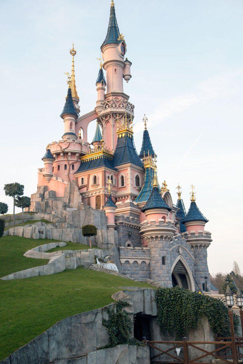 Spring 2016 A Disneyland Paris Disneyland Disneyland Paris Chateau De Disneyland