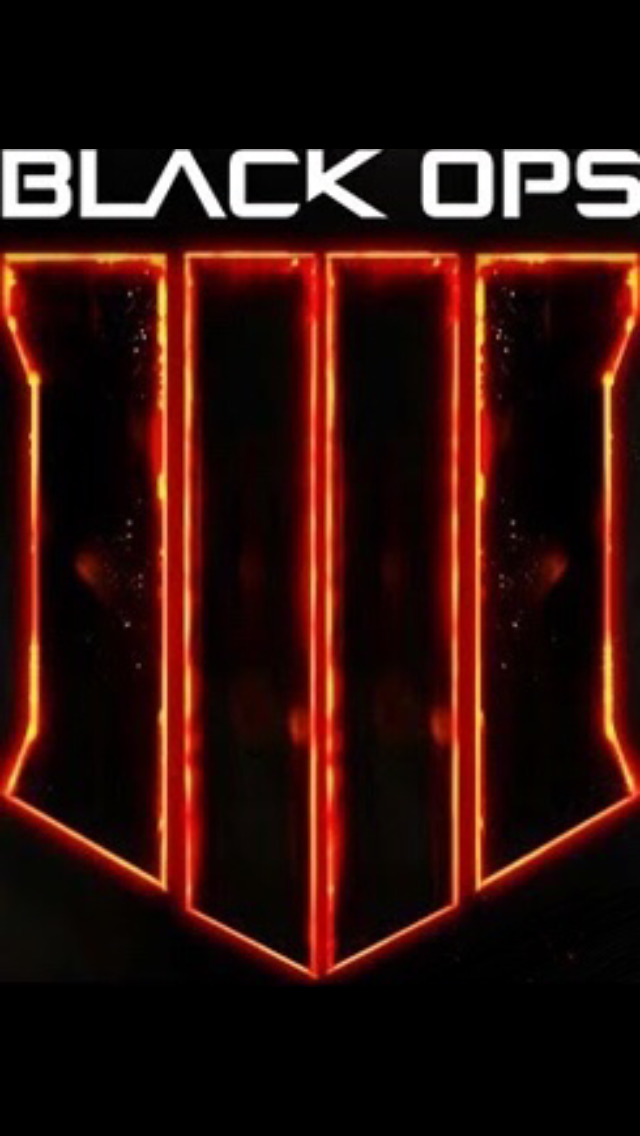 Call Of Duty Black Ops 4 Iphone Wallpaper Background Logo Treyarch