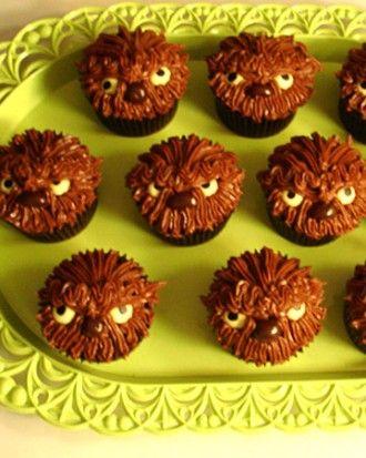 Werewolf Cupcakes Recipe Halloween Recipes Pinterest