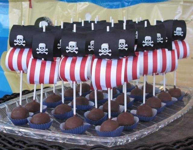 Pirate Ship Cake Pops Pinteres