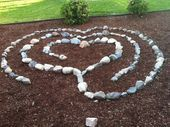 My friend Seraphinas beautiful labyrinth in her back yard Hello everyone    My friend Seraphinas beautiful labyrinth in her back yard Hello everyone