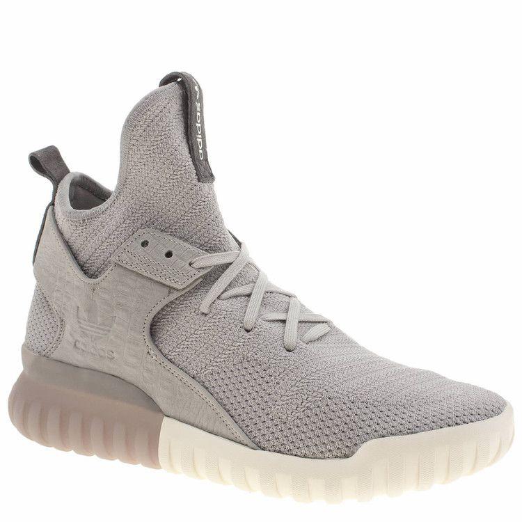 Schuh - Adidas grey tubular x primeknit trainers