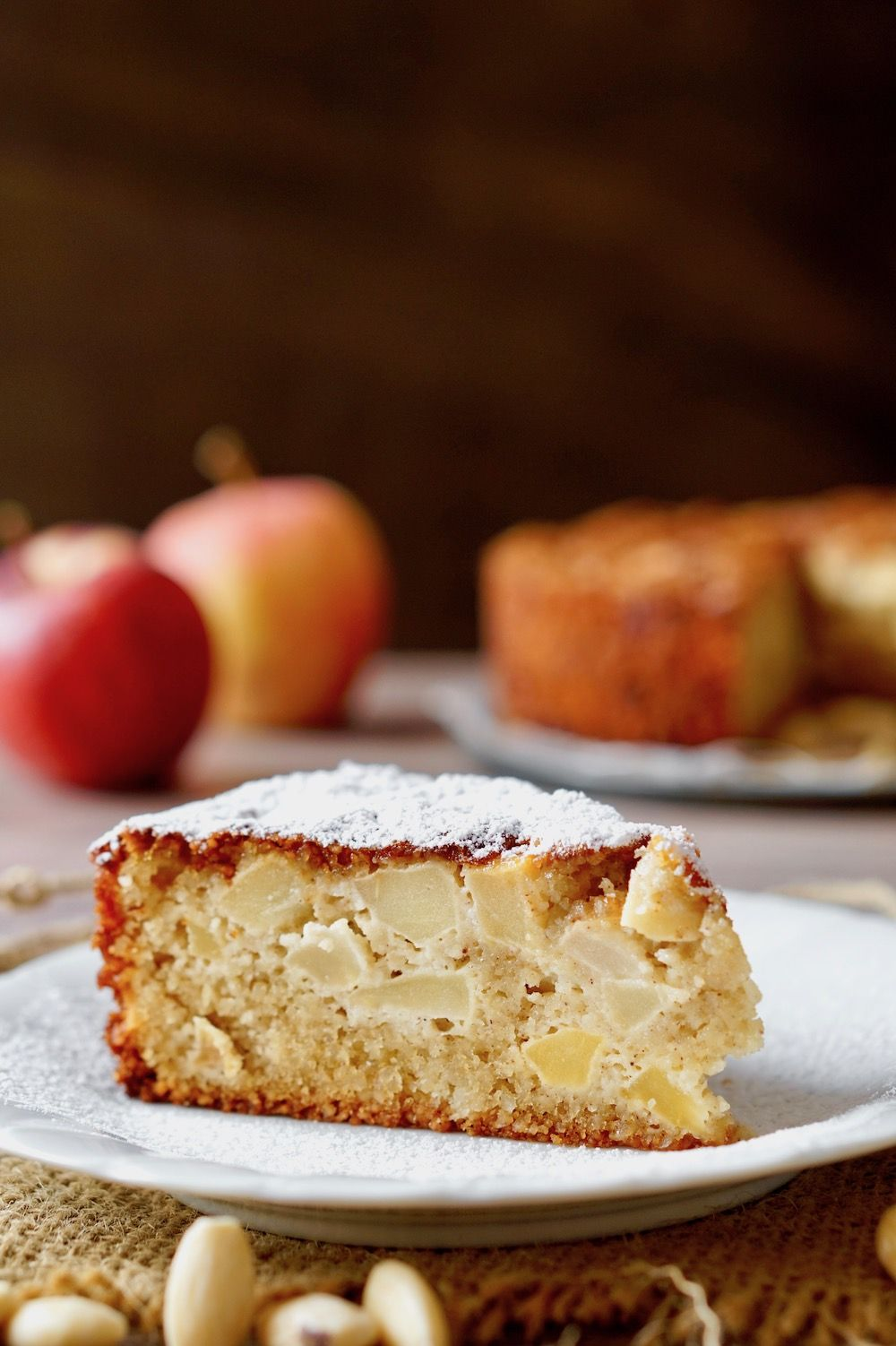 Photo of Apple Almond Flourless Cake
